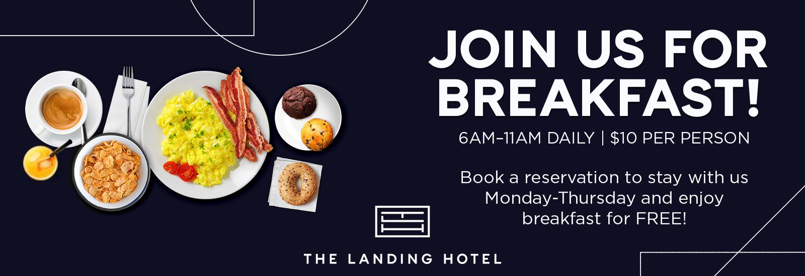 Landing Hotel Breakfast