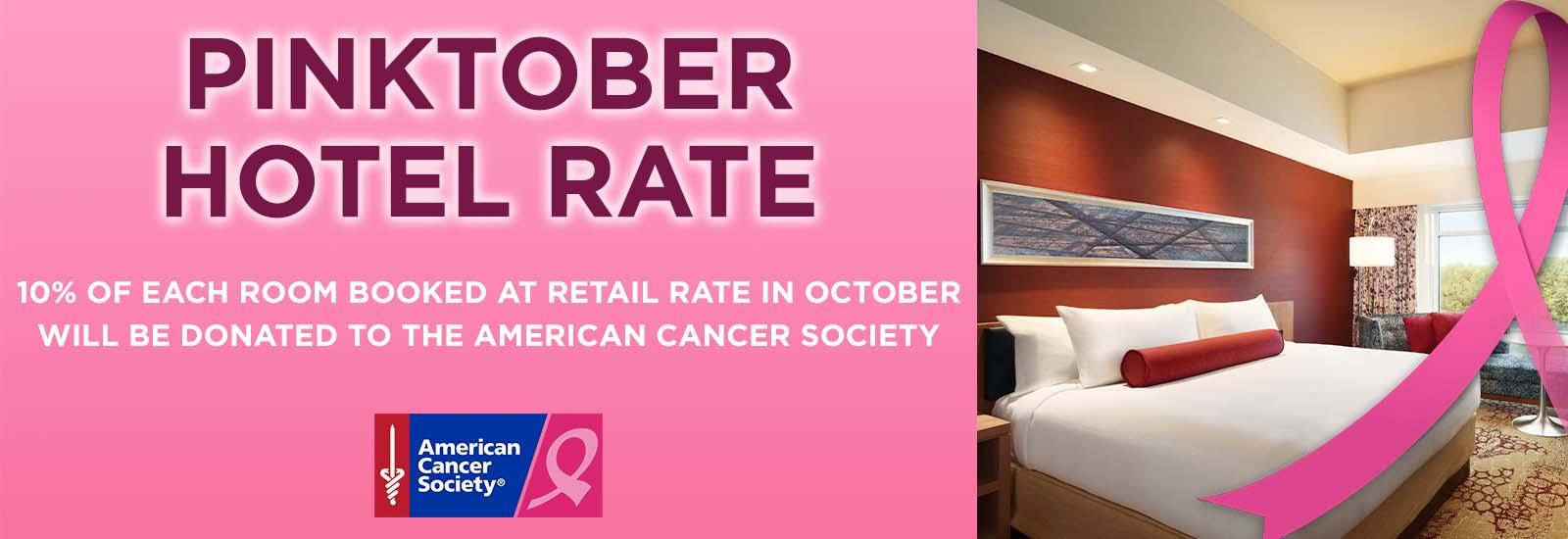 Pinktober Hotel Rate